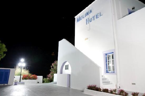 Melina Hotel at night