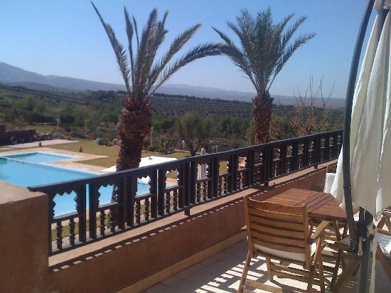 Kasbah Agounsane : terrasse