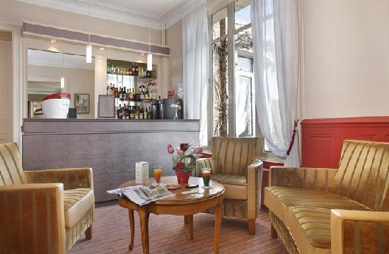 Hotel Normandie Auxerre : Bar
