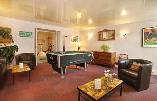 Hotel Normandie Auxerre : Salon - Billiard