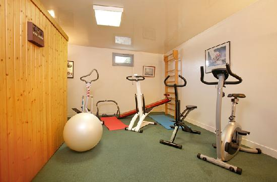 Hotel Normandie Auxerre : Espace Fitness - Sauna