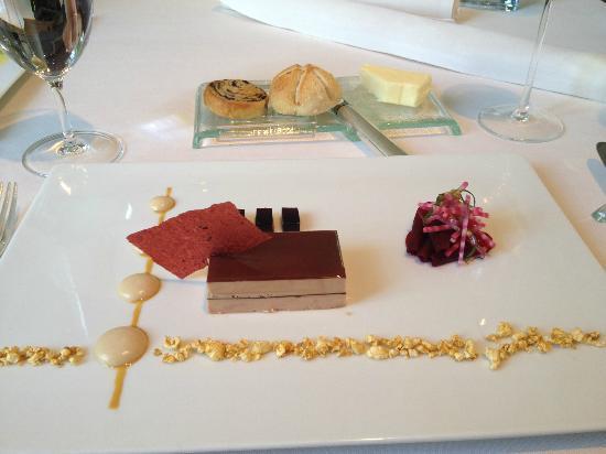 foie grass picture of gourmetrestaurant vendome bergisch gladbach tripadvisor. Black Bedroom Furniture Sets. Home Design Ideas