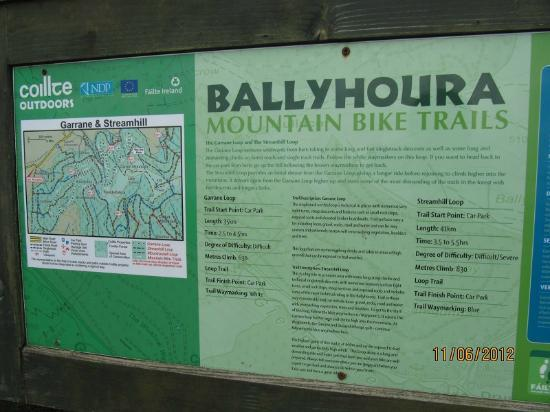 Ballyhoura Walking Trails : brown track -return way