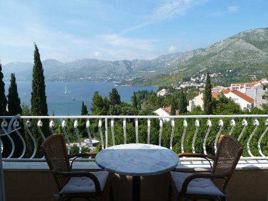 Villa Stanovic : Room 4 balcony