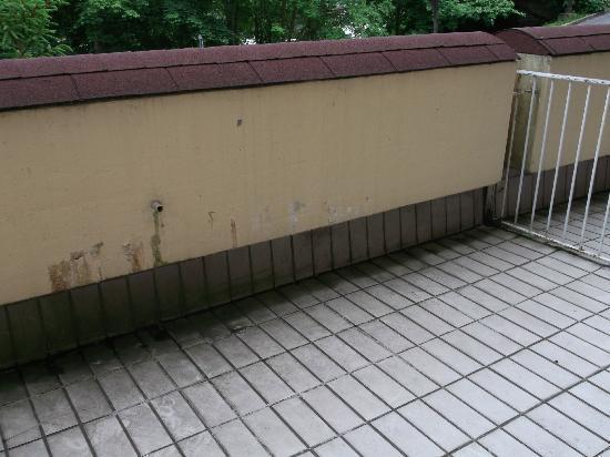 Hotel Schmaus: balkon