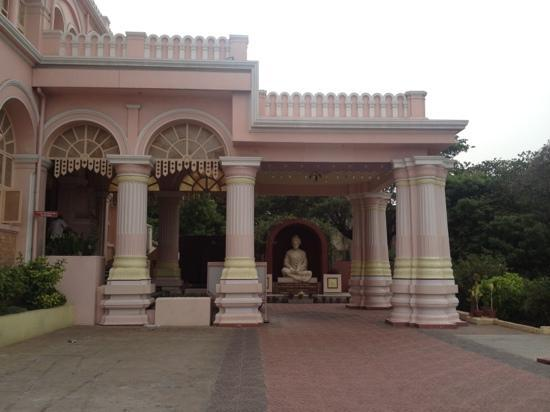 Ramakrishna Temple : entrance