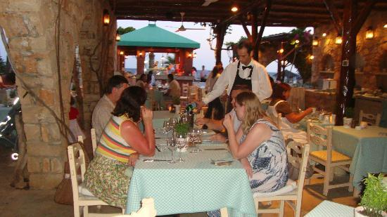Le Vieux Village Restaurant: People enjoying their meal at the restaurant