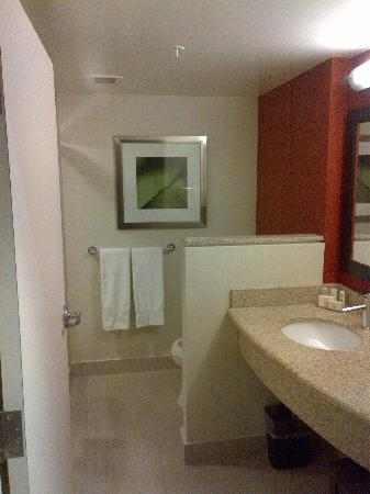 Courtyard by Marriott Kingston Highway 401 / Division Street : sizeable bathroom