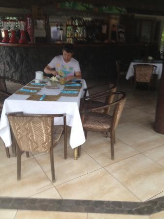 Le Manumea Hotel: breakfast