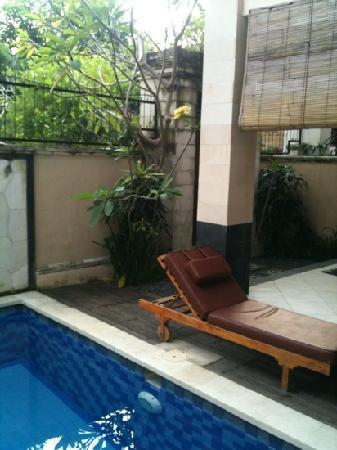 Surya Mas Villa: Inside the villa but still an outdoor feel