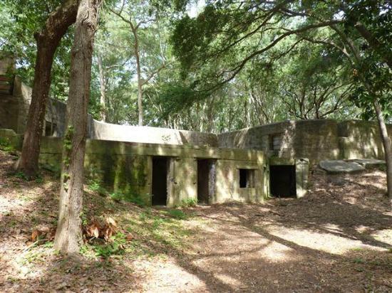Fort Fremont: old fort