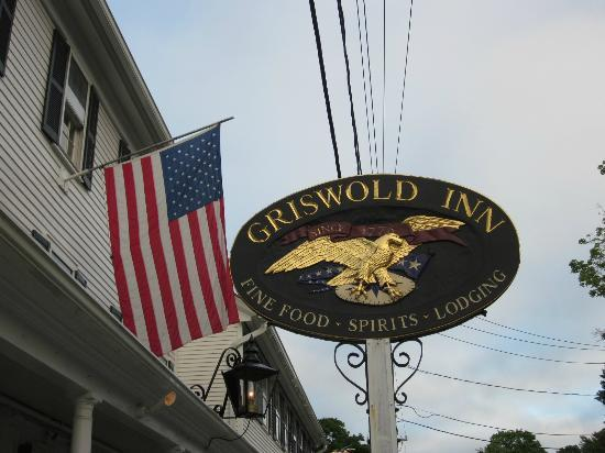Griswold Inn: Sign of the Inn