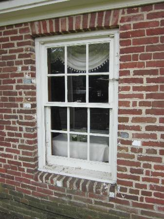 The Kitty Knight House: Tavern window