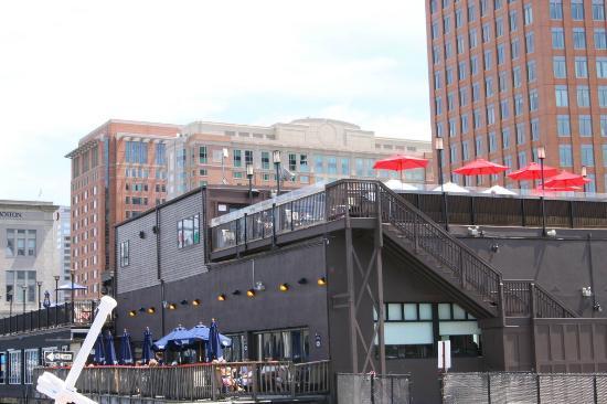 Atlantic Beer Garden Boston Seaport District South Boston Waterfront Menu Prices