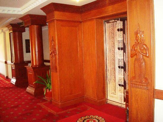 New Angkorland Hotel: Лифт отеля