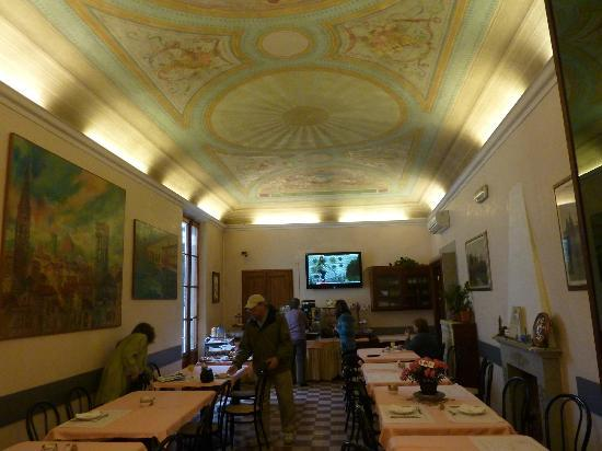 Hotel Casci: Breakfast room