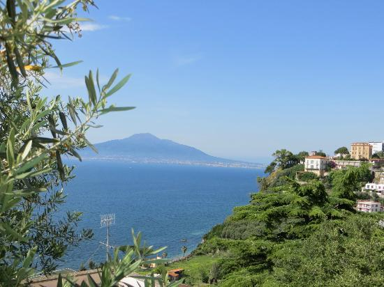 Grand Hotel Angiolieri: View From Room/Dining Terrace