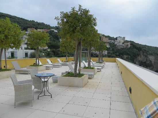 Grand Hotel Angiolieri : Roof Top Sun Bathing or Just Relaxing