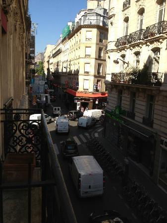 Hotel Monna Lisa: Street