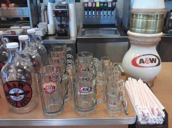 A&W Restaurant: Take a frosty mug home