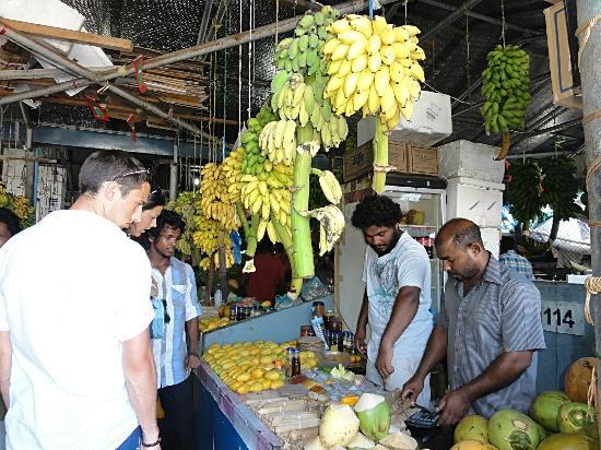 Male Fish Market: Maldives Male fruits market