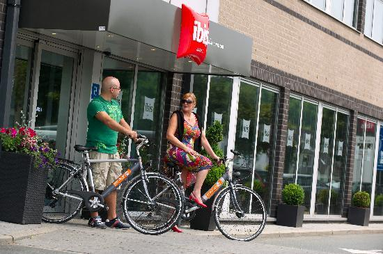 Ibis Hotel Aalst Centrum: Ideal hotel for cycling trips!