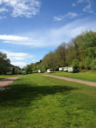 Symonds Yat, UK: Our Beautiful Campsite