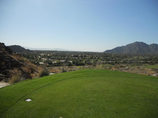 La Quinta Mountain Course : Par three on the back nine