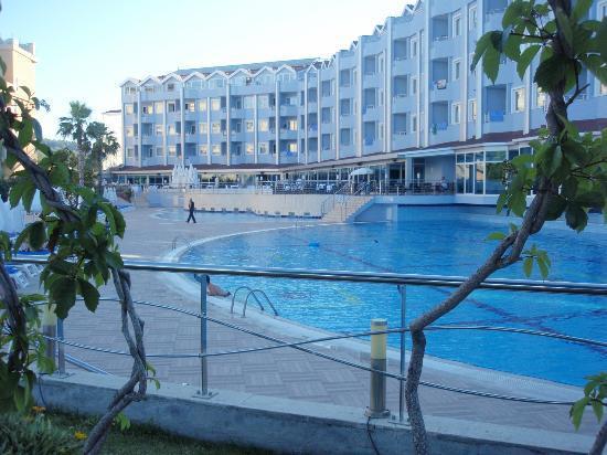 Grand Haber Hotel : voksne pool og bar