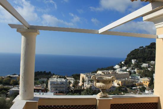 Albergo Esperia: Blick von der Terrasse