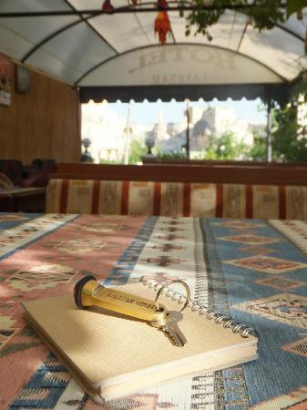 Lalezar Cave Hotel: ラウンジ