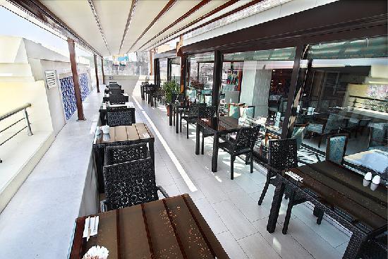 Grand Durmaz Hotel: ROOF RESTAURANT