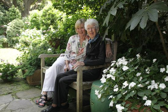 Mom And I In Mrs Whaley 39 S Garden Charleston S C Taken By Joyce Aungst Picture Of