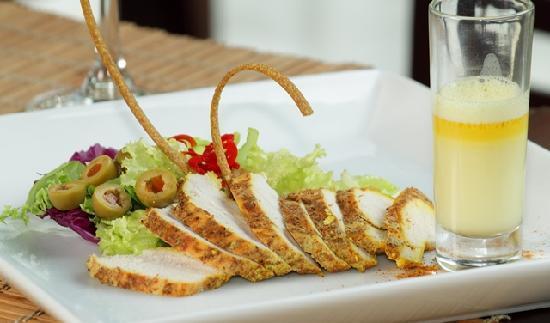 Escoffier: Crispy Chicken slices