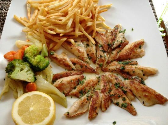 restaurant du pont: Filets de Perche du Léman