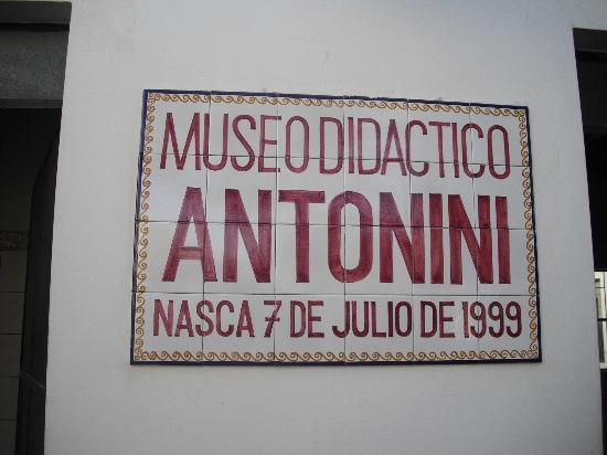 Didactic Museum Antonini (Museo Antonini)