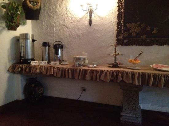 Hotel Monte Real: parte del desayuno