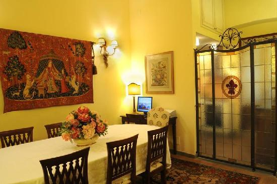 La Casa del Garbo: Breakfast room