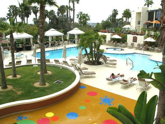 Newport Beach Marriott Hotel Spa The Main Pool