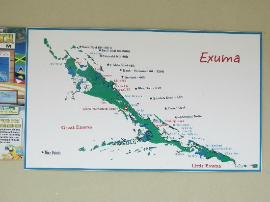 map great exuma bahamas Island Map Picture Of Sandals Emerald Bay Golf Tennis And Spa map great exuma bahamas