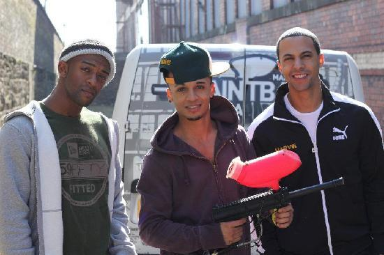 JLS at Manchester Paintball Arena