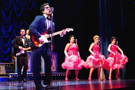 Walnut Street Theatre: Christopher Sutton and Ensemble of Buddy - The Buddy Holly Story. (2012)