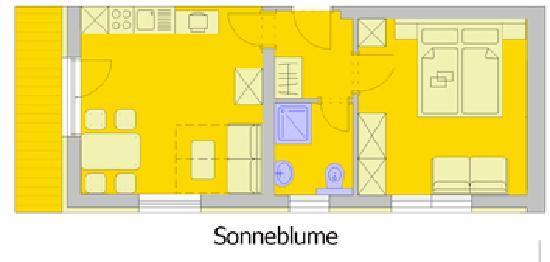 Residenz Theresa: Appartement Sonnenblume