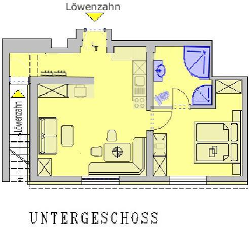 Residenz Theresa : Appartement Löwenzahn