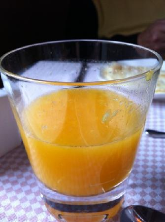 Parc Beaux-Arts Hotel Luxembourg : freshly squeezed orange juice