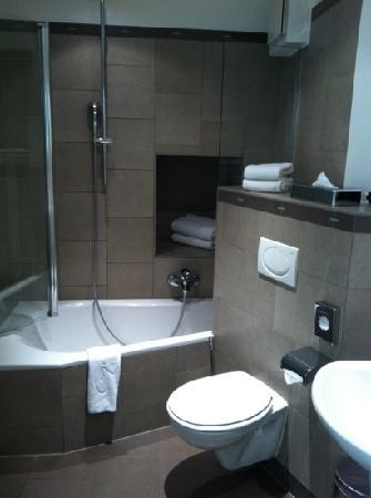 Parc Beaux-Arts Hotel Luxembourg : bathroom, not spacious