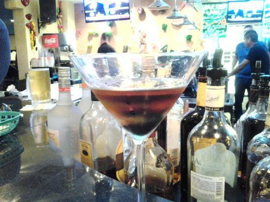 US Bar and Restaurant: U.S. Bar specialty shot