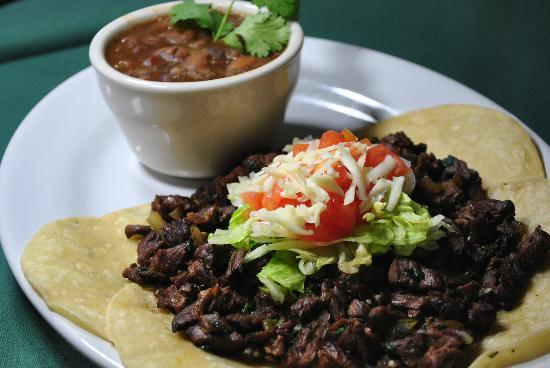US Bar and Restaurant: Fajita Tacos With Charro Beans