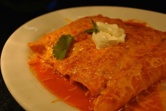 US Bar and Restaurant: Cheese Enchiladas...