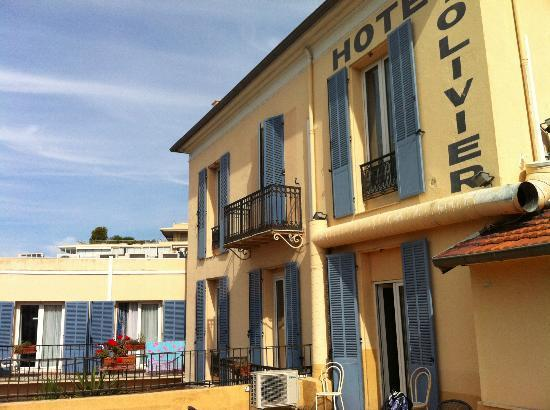 Hotel Olivier: view from terraced in day